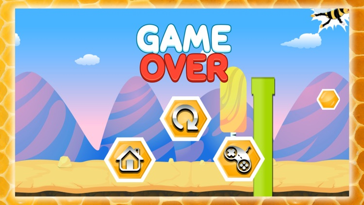 Flying Bee Honey Action Game screenshot-4