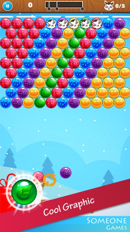 Bubble Shooter Christmas Eve screenshot-2