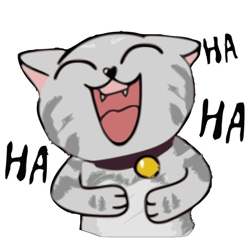 Jiggling Cat Animated Emoji Stickers