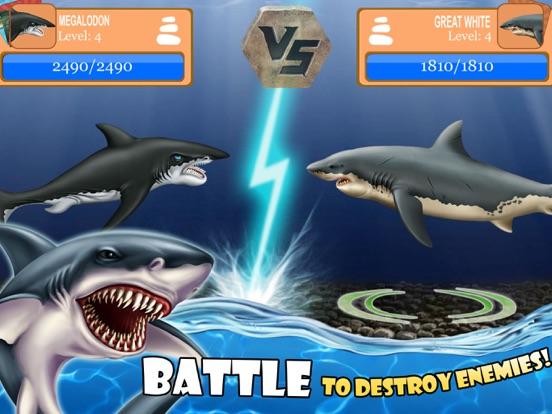 SHARK WORLD -water battle game-ipad-1