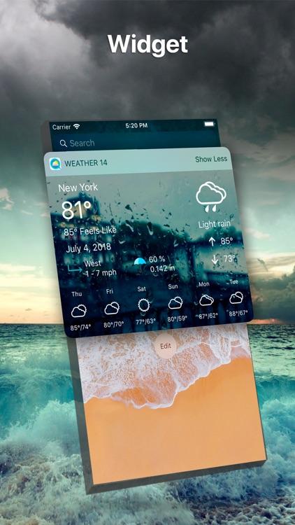 Weather 14 days Pro screenshot-3