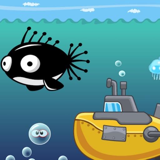 deep sea bubble application logo