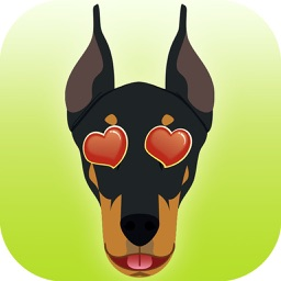 DobieMoji - Doberman Emoji & Stickers