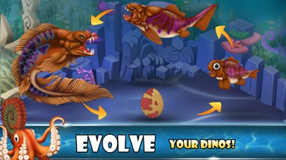 Dino Water World-Dinosaur game-3