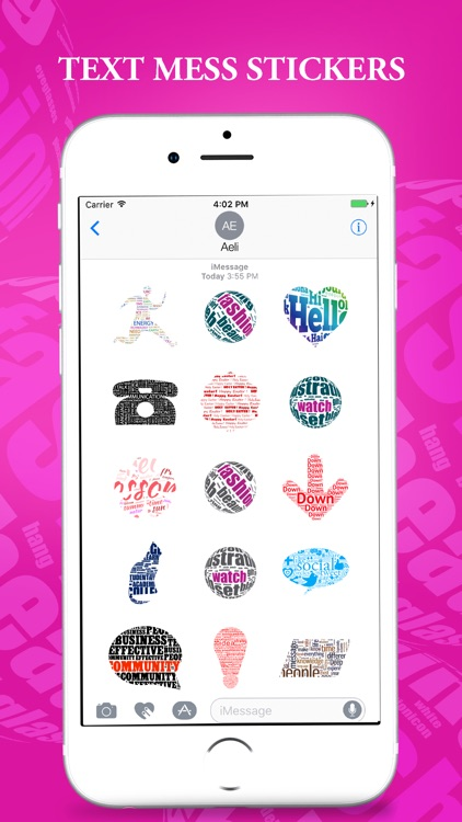 Text Message Stickers