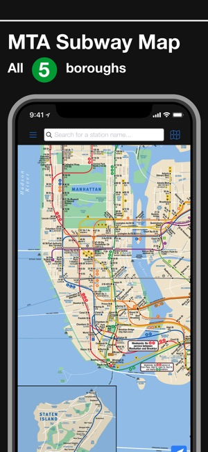Subway In New York Map