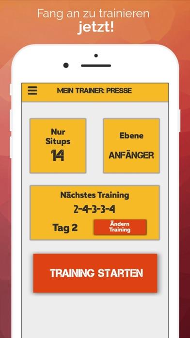 Mein Trainer: PressScreenshot von 1