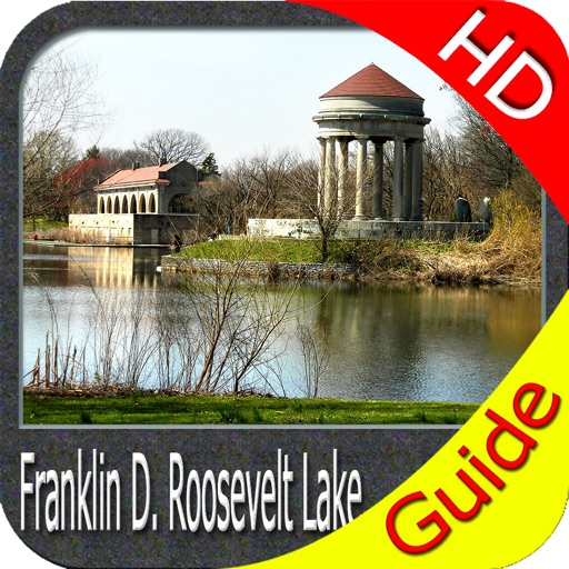 Franklin D. Roosevelt lake HD GPS fishing charts