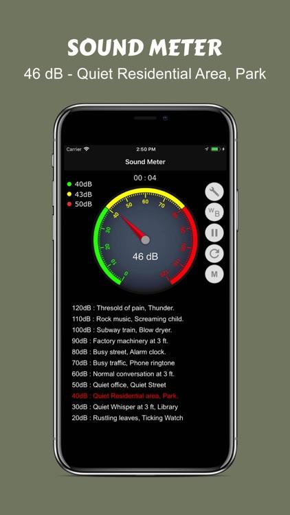 Decible Sound Analyzer screenshot-3