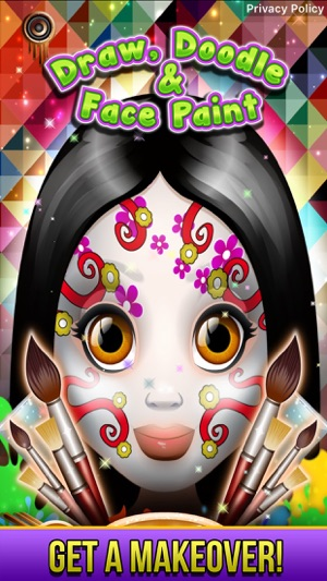 Draw Doodle Face Paint On The App Store