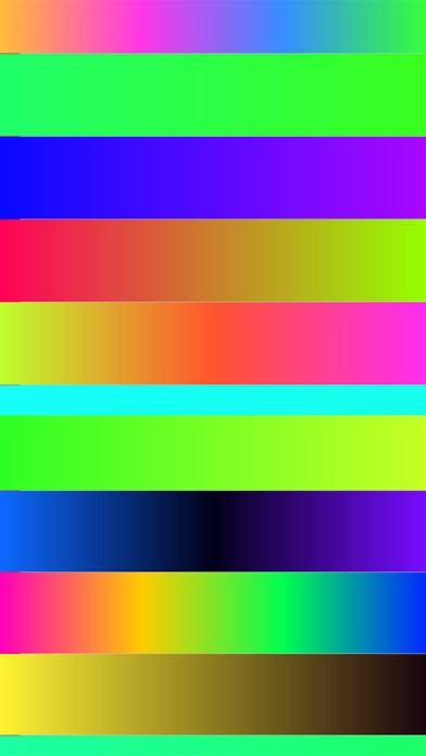 Docky - Color Gradient Bars for wallpapers