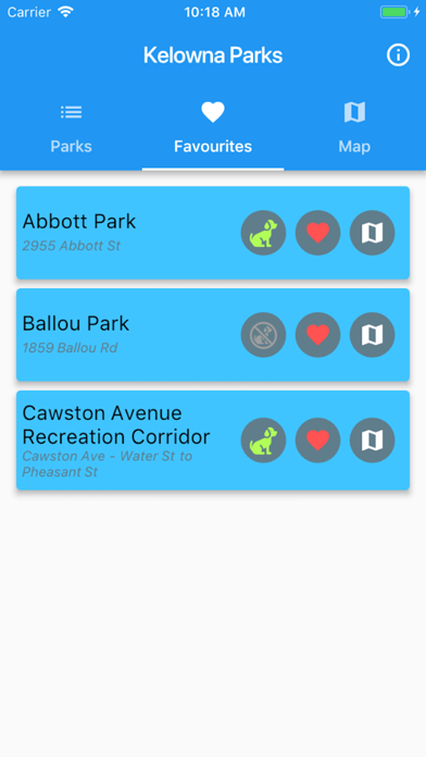 Kelowna Parks screenshot three