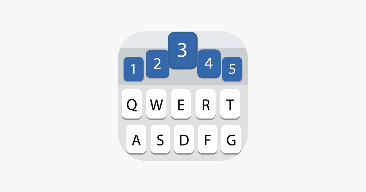 ‎Number Row Keyboard
