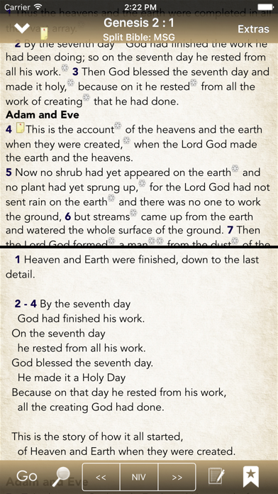 BibleScope screenshot three