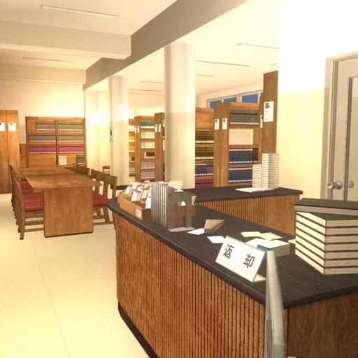 脱出ゲーム : 学校の図書館からの脱出