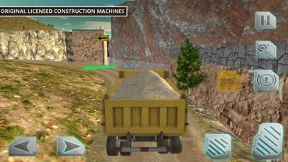 Driving Truck Construction Cit screenshot three