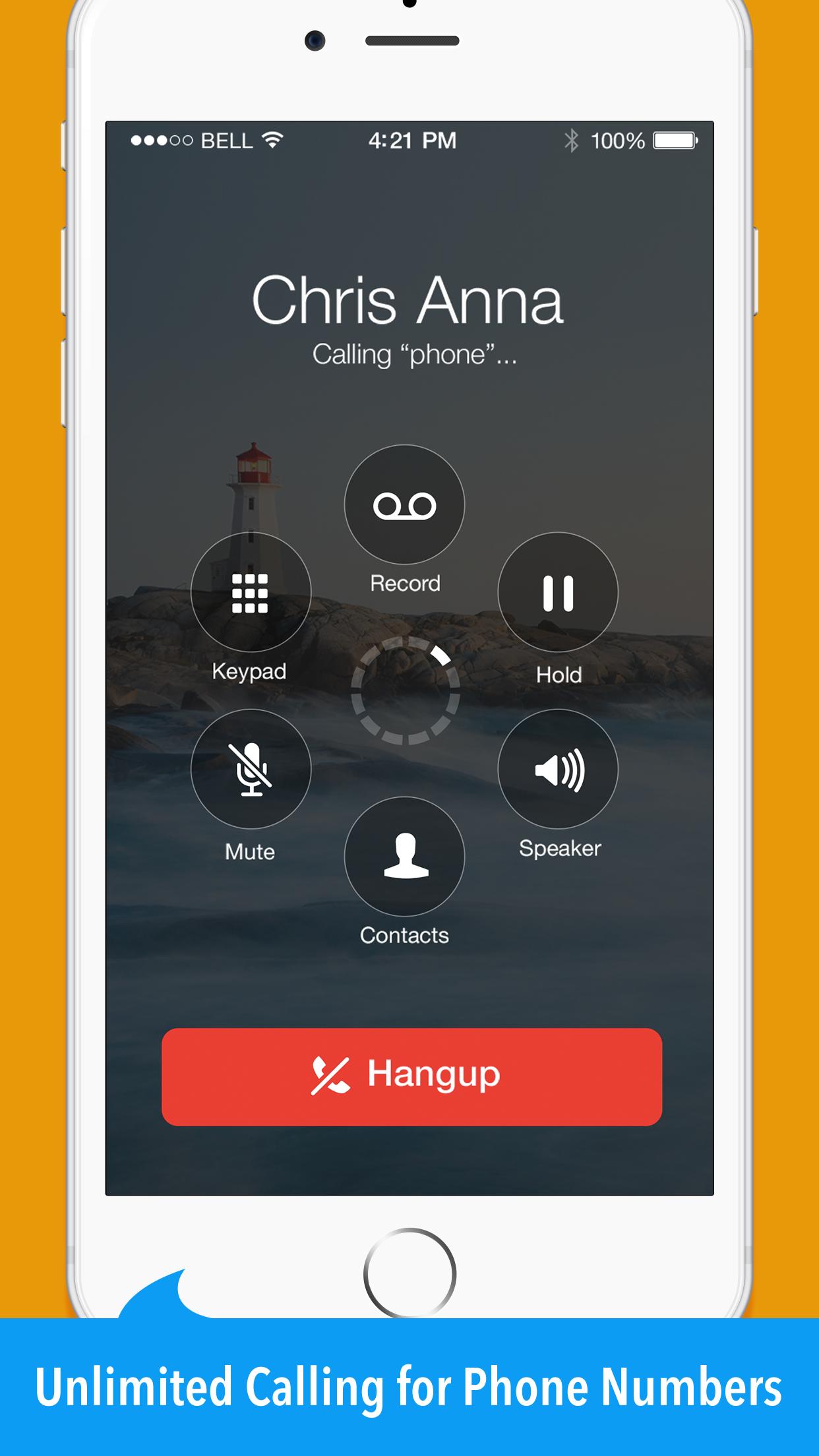 Mo+ - Calling & Texting App Screenshot