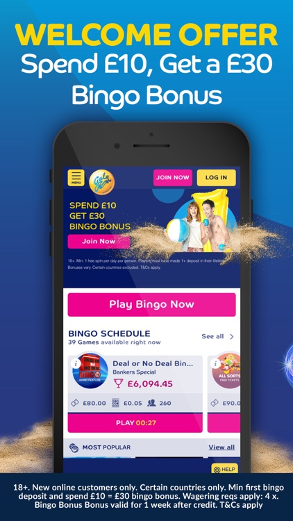Gala Bingo – Play Bingo Games screenshot-0
