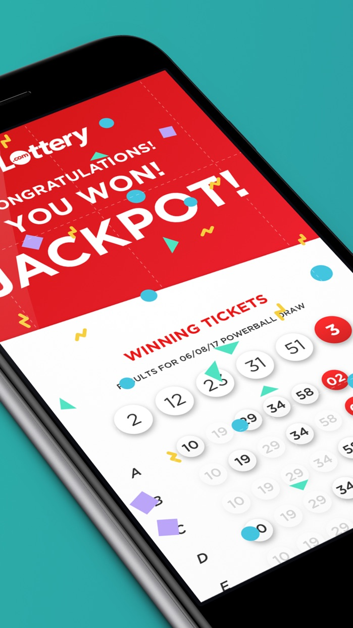 Lottery - Play the Powerball Screenshot