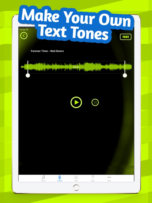 New Text Tones on the App Store