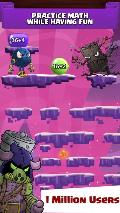 Monster Math Facts Kids Games