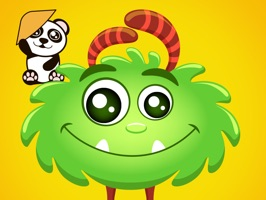 Download and enjoy with Lil Monster and Panda stickers for iMessage