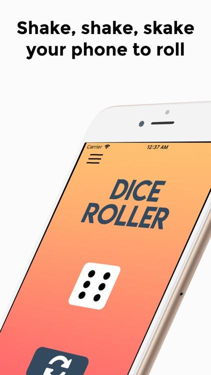Dice Roller - Random Generator screenshot-4