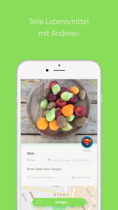 Screenshot for UXA Foodsharing in Germany App Store