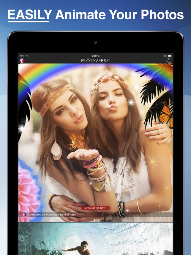 PLOTAVERSE• Photo Video Editor Screenshot