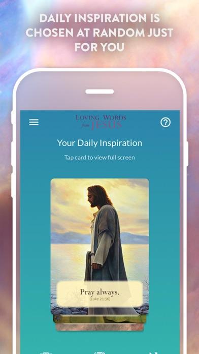 Loving Words from Jesus screenshot 2