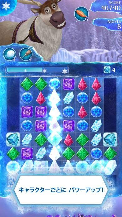 アナと雪の女王: Free Fallのスクリーンショット3