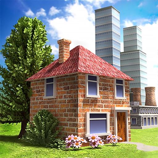 Village City Island Simulation iOS App