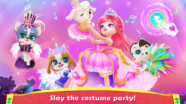 Royal Puppy Costume Party screenshot-4