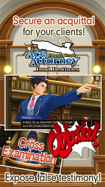Ace Attorney: Dual Destinies screenshot-0