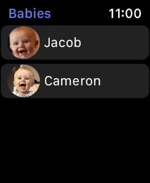 Baby Feed Timer, breastfeeding Screenshot