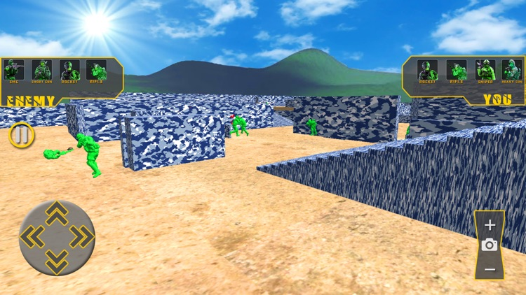 Toy World War - Army Men Fight screenshot-5