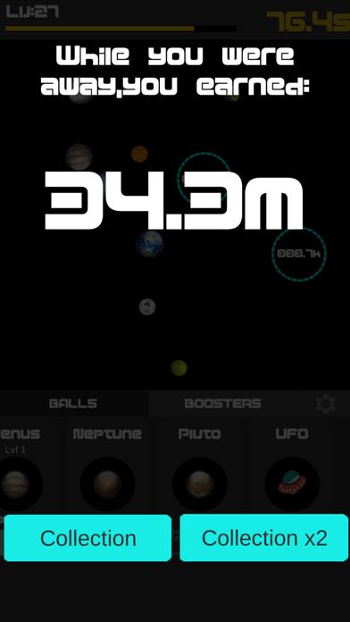 Idle Balls 2-Break Color Rings screenshot one