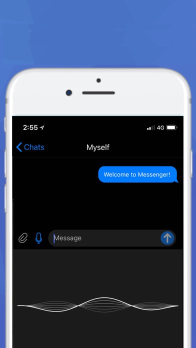 Messenger. Screenshots