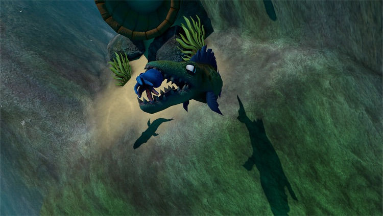 GIANT OCEAN MONSTER - FEED AND GROW FISH screenshot-4