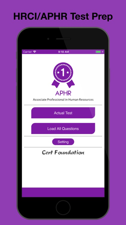APHR/HRCI Test Prep screenshot-0