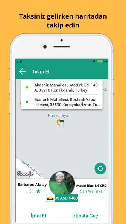 WeTaksi - İzmir'de Taksi Cepte