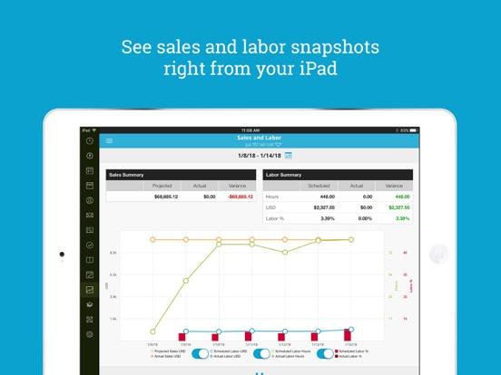 HotSchedules iPad