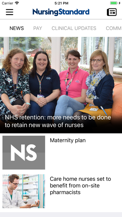 Nursing Standard screenshot one