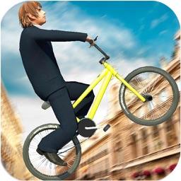 Rooftop Bicycle Stunts Mania