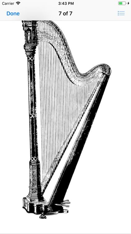 Heavenly Harp Stickers screenshot-7