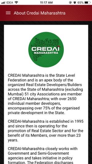 CREDAI Maharashtra App trên App Store