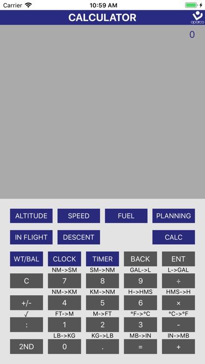 Flight Navigation Calculator