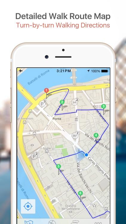 Chiang Mai Map & Walks (F) screenshot-3