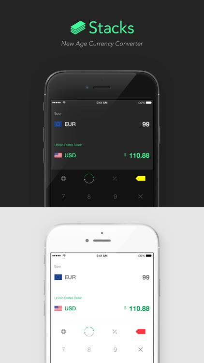 Stacks 2 - New Age Currency Converter screenshot-0