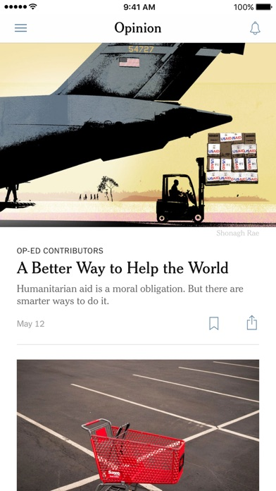 The New York Times screenshot four
